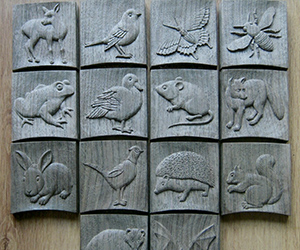 Wildlife Icon Plaques