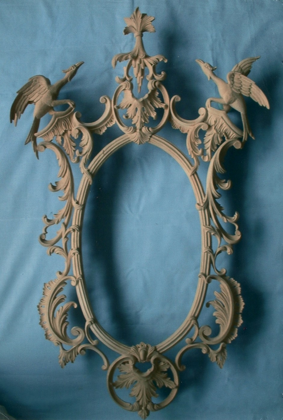 Chippendale Style Wall Mirror Hand Carved By Wood Carver Jose Sarabia - chippendale wood carver wall mirror