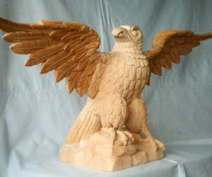 Console Table Eagles