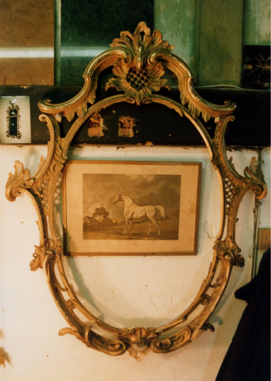 The Finished Restored Mirror Frame. - mirror frame restores