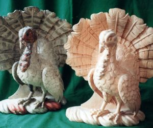 Turkey Reproduction - Wood Carving