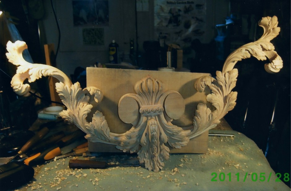 Thomas Chippendale Mirror Restoration - Thomas Chippendale Mirror Restoration