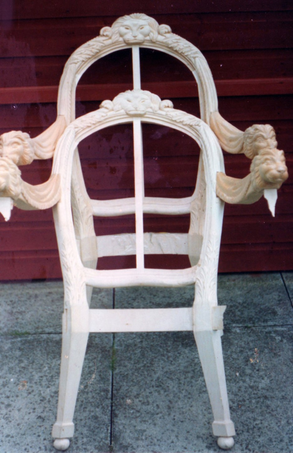 Work in progress - Chair backs carved. - elton john chairs wooden carved chairs famour