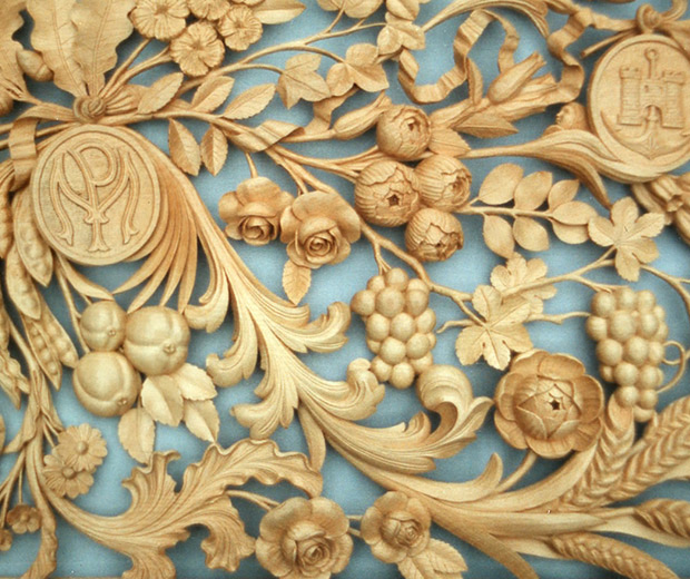 Wall Plaque Wood Carving